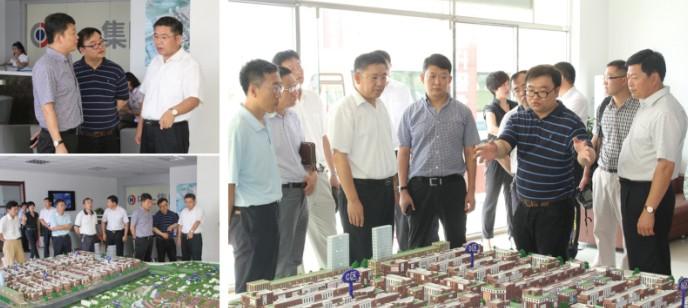 即墨市委宣传部长衣立渊考察青岛国际服装产业城