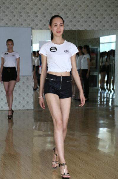 2014elite世界精英模特大赛中国区比赛山东赛区首轮